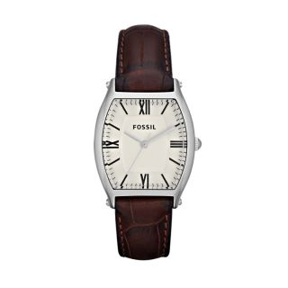 fossil womens wallace leather watch brown # es3122