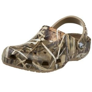 Crocs Beach Realtree Max HD Camouflage Croslite Clog Mens 8 9 Womens