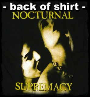 Cradle of Filth Vempire Nocturnal Supremacy T Shirt Official Fast SHIP