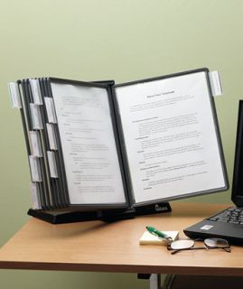 Desktop Reference File Organizer Index Tabs Clear Files