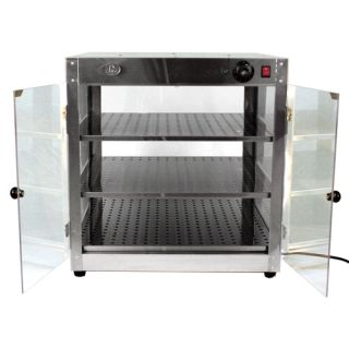 CBI Commercial Food Warmer Stainless Steel Countertop Pizza Display