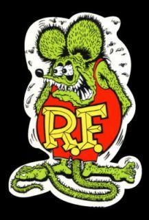 Vintage Rat Fink Decal