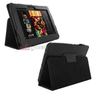 Folio Leather Case Stand Case Cover For  Kindle Fire HD 7 Tablet