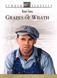 The Grapes of Wrath Henry Fonda Jane Darwell New DVD 024543103301
