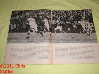 1964 Sports Illustrated Giants vs Bears Championship Game Report
