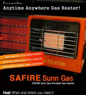 Safire Portable Gas Heater Heating Fan Fishing Camping Outdoor