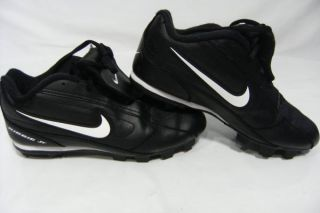 Nike Ribbie Jr Youth Baseball Football Cleats Athletic Shoes Size 5 5Y