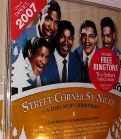 Doo Wop Christmas Street Corner St Nicks Free SHIP CD