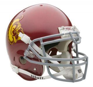 USC Trojans Schutt Full Size Authentic Football Helmet