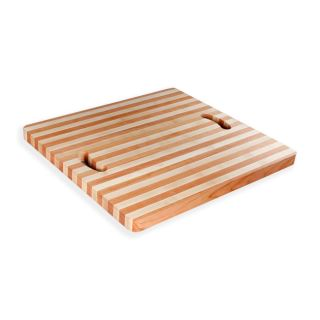 Square Rounded End Grain Cutting Board Maple Plate Designer