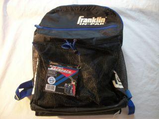 Black in Pak Franklin Skate Backpack Hockey Skaters Backpack Youth