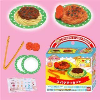 Spaghetti/Pasta Set Japanese Sample/Replica Food Making Kits F/S BNIP