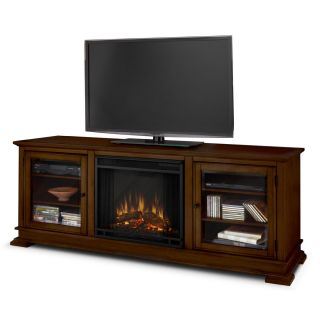 Real Flame HUDSON Portable Electric Fireplace Entertainment Center