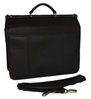 Foray Deluxe Doctors Leather Computer Briefcase $240