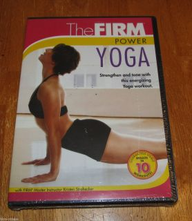 The FIRM Power Yoga DVD Brand NEW