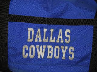 Cowboys NFL Football Team Equipment Travel Bag Various Players