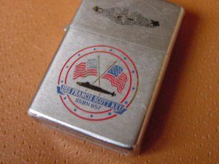 Vintage Zippo Lighter USS Francis Scott Key SSBN 657 Submarine
