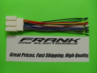 Ford F150 F250 F350 Aftermarket Radio Stereo Wire Wiring Harness NEW