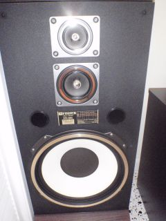 Vintage fisher stv 884 speakers with 15 inch woofers in 36 for 15 inch floor standing speakers