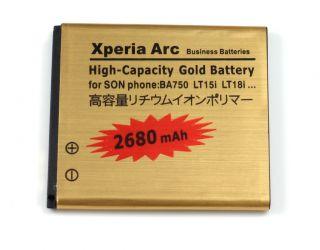 High Capacity Battery BA750 for Sony Ericsson Xperia Arc x12 LT15i Arc