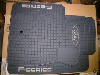 Ford Truck F150 F250 Factory Vinyl Floor Mats 1997 2003