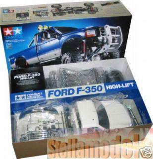 58372 Tamiya 1 10 R C Ford F 350 High Lift Truck F350