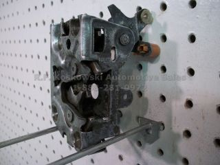 Ford Ranger Pickup Truck Front Door Latch Manual Door Lock Assembly