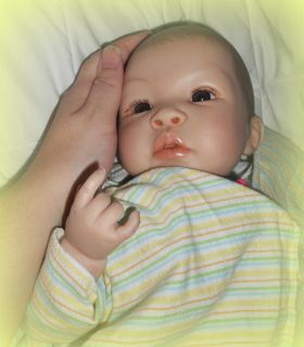 reborn baby doll with heartbeat so real by artist Jessica Simpson * so