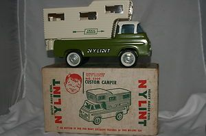 1960s Nylint Ford Econoline camper Truck with Box