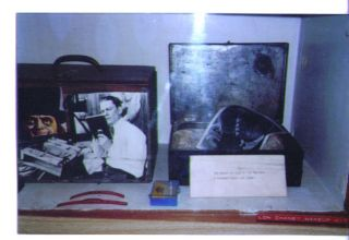 Forrest J Ackerman Collection Lon Chaney Makeup Kit Pic