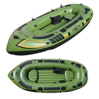 Friday Harbor FH302 Commander 12 6 Man Inflatable Fishing Dinghy Holds