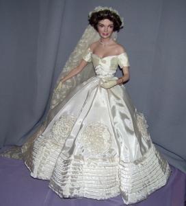 Franklin Mint Jackie Kennedy Bride Doll