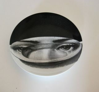 Fornasetti Large Themes Variations 10 Plate RARE