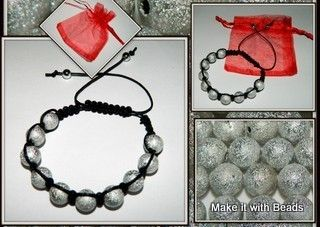 Beads Friendship Bracelet Jewellery Making Kit Instructions