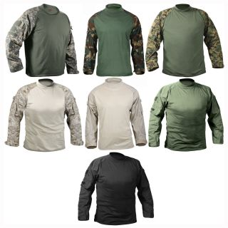 Military Camo Flame Resistant Tactical Army Combat Shirt