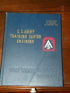 Fort Leonard Wood Graduation Book 1961