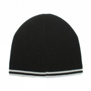 Fred Perry Twin Tipped Beanie [One Size  us One Size] Dark Green White