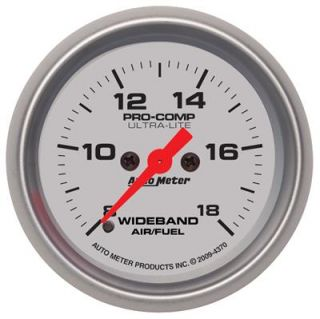 Autometer Ultra Lite Electrical Air Fuel Ratio Gauge 2 1 16 Dia