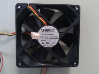Foxconn Fan 3 5 8 in by 1 in ZP DC Brushless Fan PV983DE1 12V 0 18A