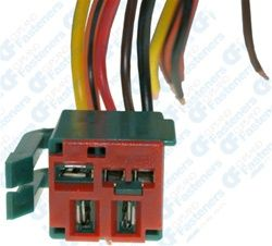 Ford Fuel Pump Relay Harness Connector