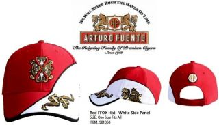 Fuente Fuente Opus x Red Ffox Logo Baseball Cap w White Side Panel Tag
