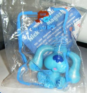 Flip Flop Blue Nick Jr Blues Clues Subway Kids Pak Mint in Package