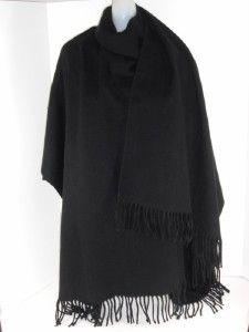 fraas black acrylic womens wrap cape