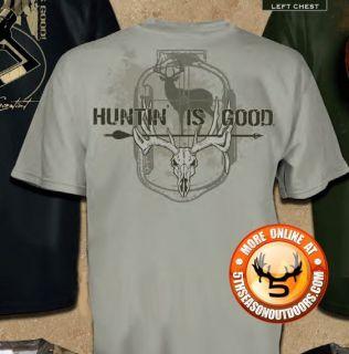Is Good Deer Hunting Shirt Gun Hunting Skull Jeff Foxworthy 600 1451