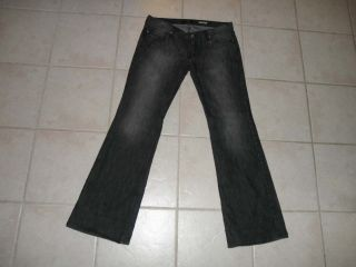 Guess Womens Foxy Flare Jeans Size 30 Long ~ 34 x 33 Low Rise 30L