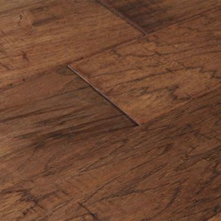 Hand Scraped Country Hickory Hardwood Flooring Wood Floor