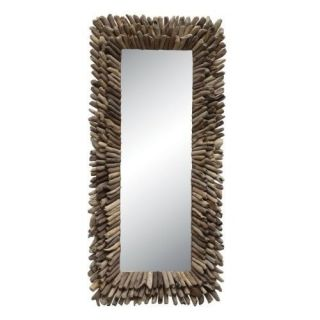 Driftwood Framed Mirror Home Decor DA0675 105 New