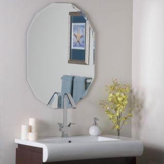 Frameless Diamond Wall Mirror Hall Bathroom Designer