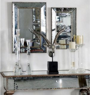 Antique Look Frameless Wall Mirror 12.5x20.5   89640