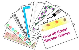 Bridal Shower Games Pack 40 Printable Party Checklist